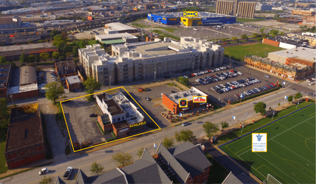 Drone Picture - 3818 Laclede